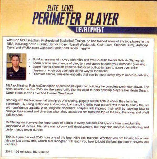 (Rental)-Elite Level Perimeter Player