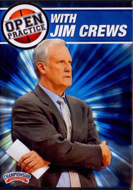 Open Practice With Jim Crews by Jim Crews Instructional Basketball Coaching Video