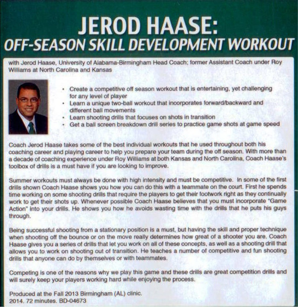 (Rental)-Off-season Skill Development Workout