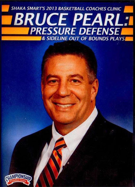 Pressure Defense & Sideline Out Of Bounds Plays by Bruce Pearl Instructional Basketball Coaching Video