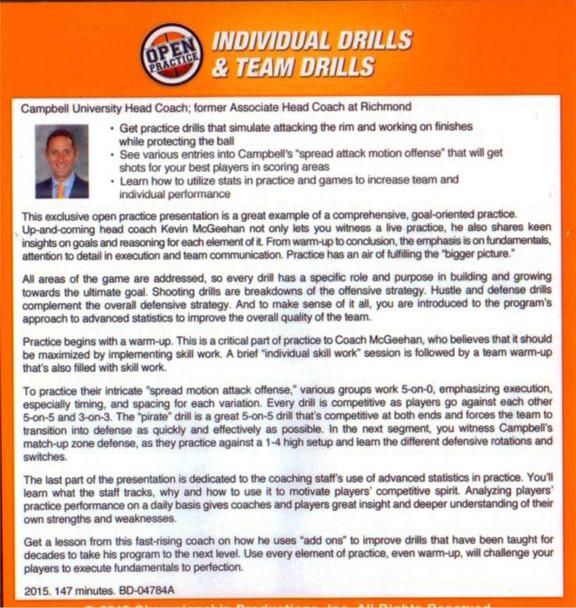 (Rental)-Individual Drills & Team Drills