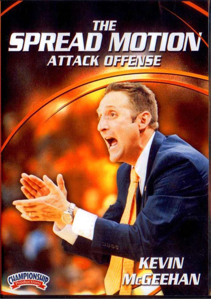 The Spread Motion Offense by Kevin McGeehan Instructional Basketball Coaching Video
