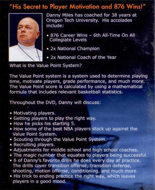 (Rental)-Danny Miles' Point Value System & Daily Drills