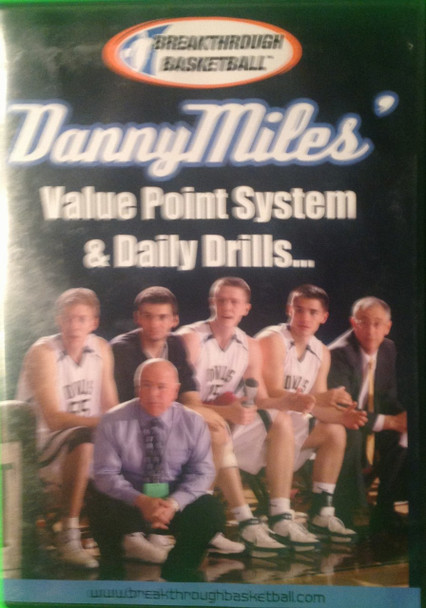 Danny Miles' Point Value System & Daily Drills by Danny Miles Instructional Basketball Coaching Video