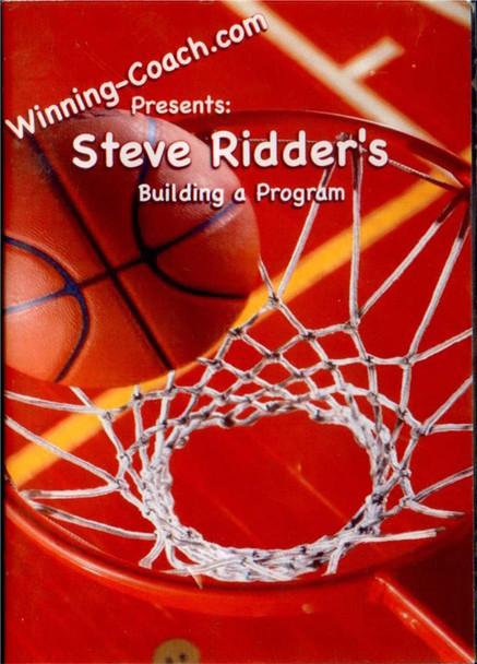 Steve Ridder's Building A Program by Steve Ridder Instructional Basketball Coaching Video