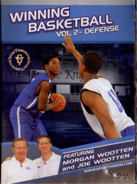Winning Basketball: Vol 2 - Defense by Morgan Wootten Instructional Basketball Coaching Video