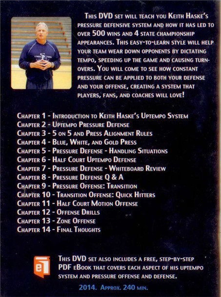 (Rental)-Keith Haske's Uptempo Basketball System