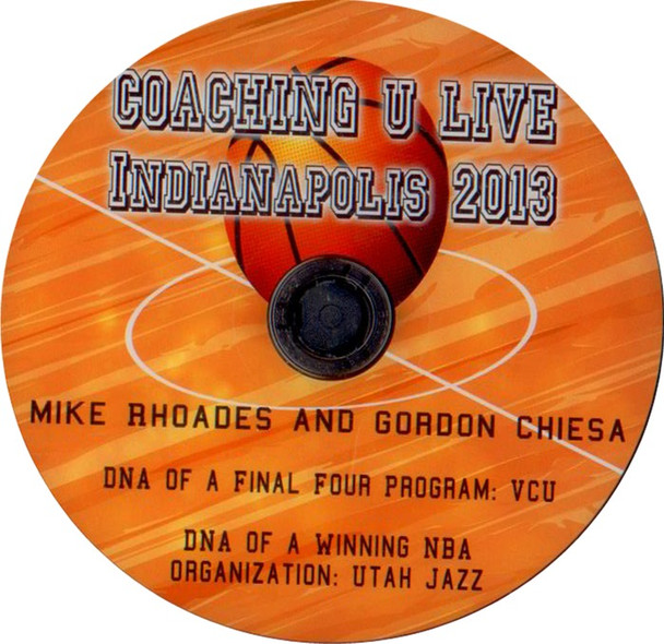 Mike Rhoades Vcu: Dna Of A Final Four Program by Mike Rhoades Instructional Basketball Coaching Video