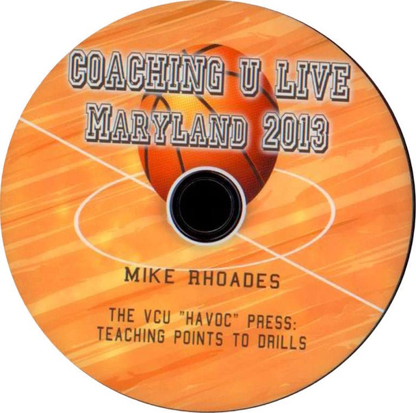 The Vcu Havoc Press: Teaching Points To Drills by Mike Rhoades Instructional Basketball Coaching Video