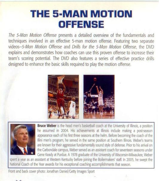 (Rental)-The 5-man Motion Offense