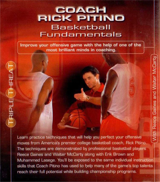 (Rental)-Rick Pitino Basketball Fundamentals
