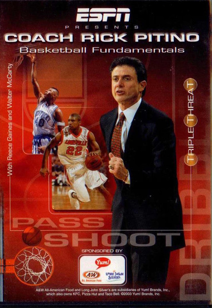 Rick Pitino Basketball Fundamentals by Rick Pitino Instructional Basketball Coaching Video