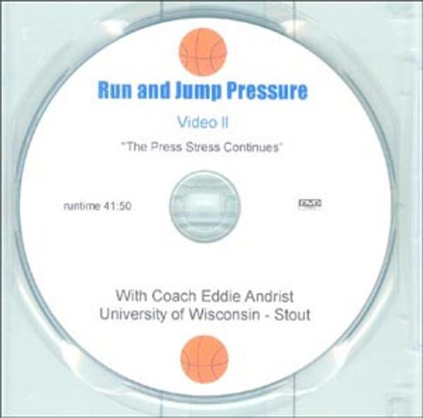 Run & Jump Pressure Video Ii Andrist by Eddie Andrist Instructional Basketball Coaching Video