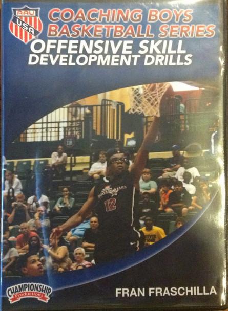 Offensive Skill Development Drills by Fran Fraschilla Instructional Basketball Coaching Video