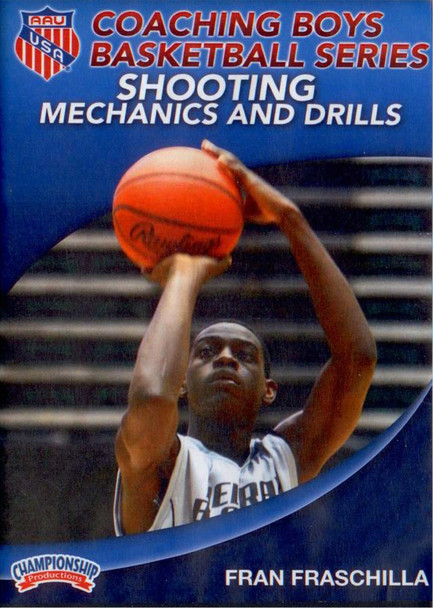 Aau Boys Basketball Series: Shooting Mechanics And Drills by Fran Fraschilla Instructional Basketball Coaching Video