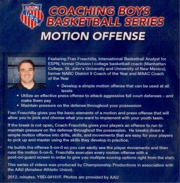 (Rental)-Aau Boys Basketball Series: Motion Offenses