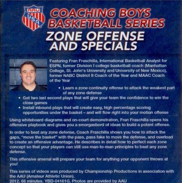 (Rental)-Zone Offense & Specials
