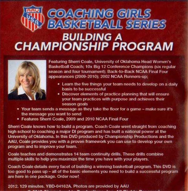 coaching girls basketball