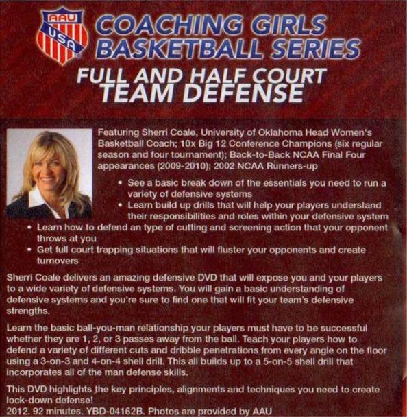 (Rental)-Aau Girls : Full & Half Court Team Defense