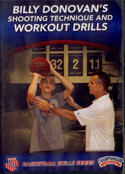 Shooting Technique & Workout Drills by Billy Donovan Instructional Basketball Coaching Video