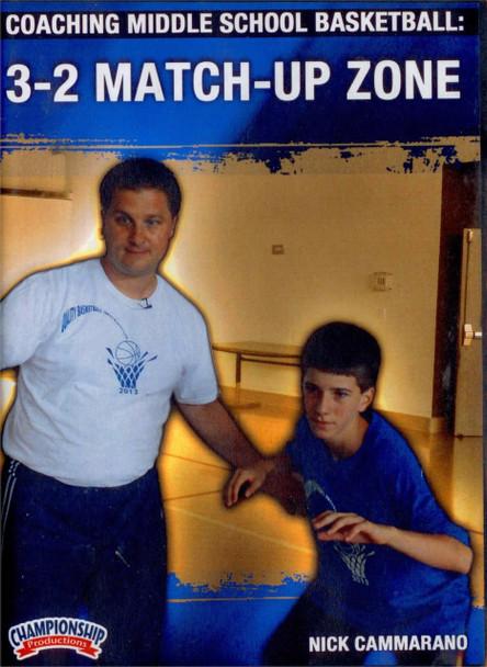 Coaching Middle School Basketball: 3-2 Match Up Zone by Nick Cammarano Instructional Basketball Coaching Video
