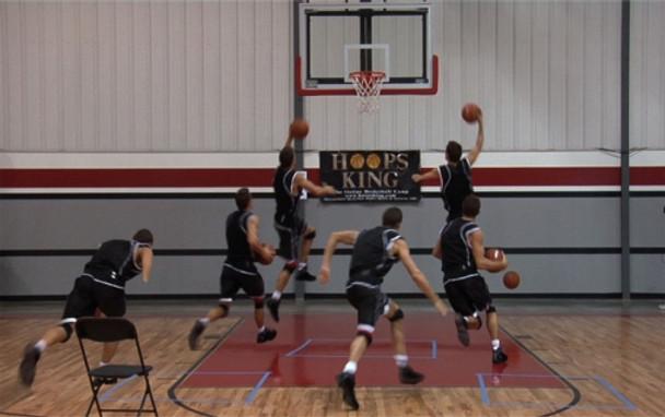 Basketball finishing moves with Ganon Baker.