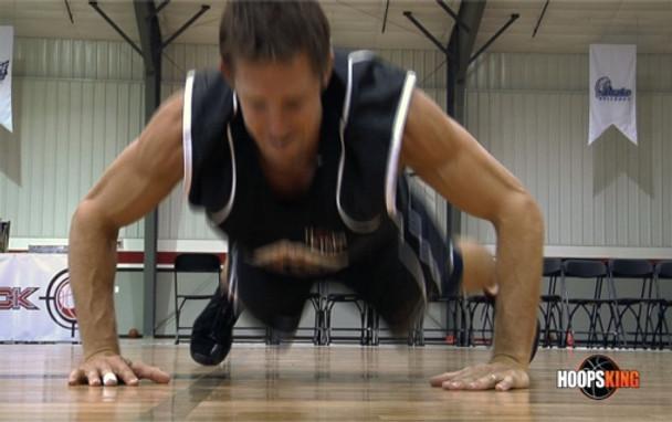 basketball pushups