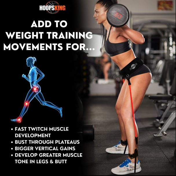add resistance bands to squats weight lifting moves