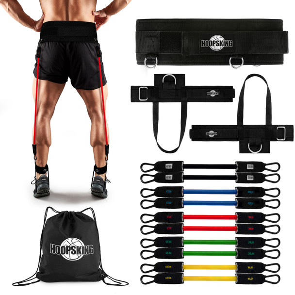 vertical jump resistance bands trainer