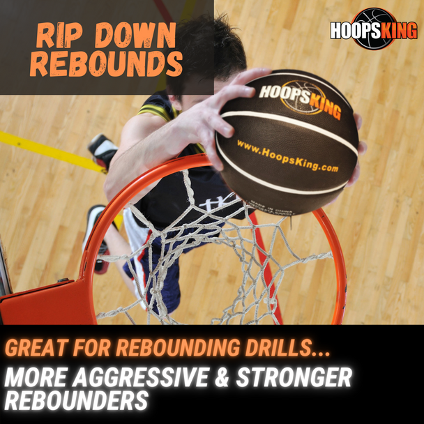 Develop Better Rebounders with a weighted basketball