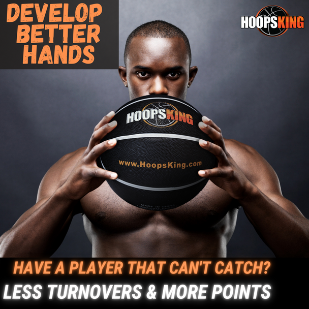 stop dropping passes in basketball with a weighted basketball