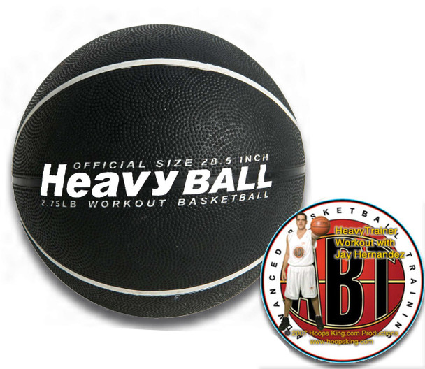 "Weighted Basketball comes in 29.5"" and 28.5"""