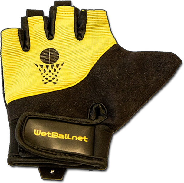The Wet Mitt shooting glove is for right handed shooters only and is worn on the left hand.