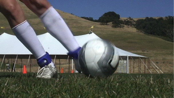 V-Bands can be worn on the ankles to develop more speed and quickness.