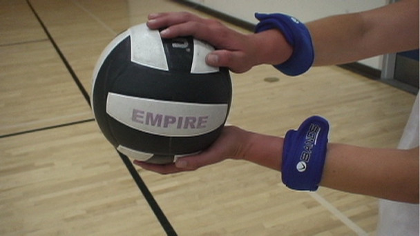 Get a more powerful serve in volleyball with the V-Bands.