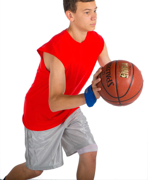 Pass the basketball faster and harder with V-Bands.