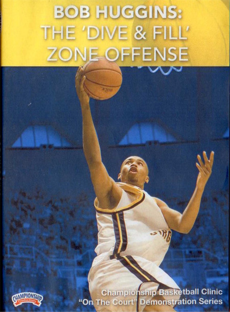 The 'dive & Fill' Zone Offense by Bob Huggins Instructional Basketball Coaching Video
