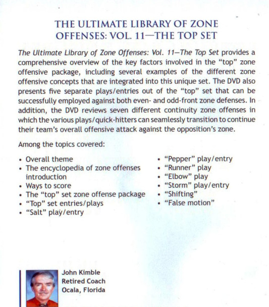 (Rental)-Zone Offenses: The Top Set