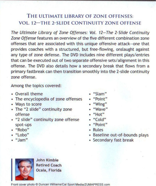 (Rental)-2 Slide Continuity Zone Offense
