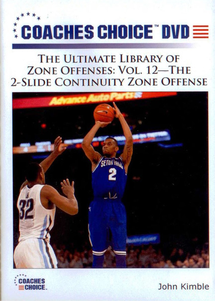 2 Slide Continuity Zone Offense by John Kimble Instructional Basketball Coaching Video
