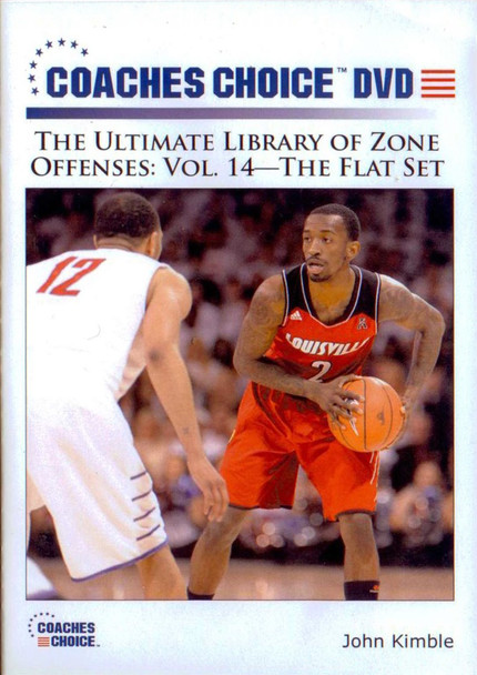 Zone Offense: The Flat Set by John Kimble Instructional Basketball Coaching Video