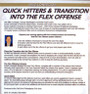 transition flex offense sets