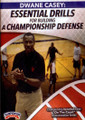 Essential Drills For Building A Championship Defense by Dwane Casey Instructional Basketball Coaching Video