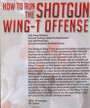 (Rental)-HOW TO RUN THE SHOTGUN WING-T OFFENSE