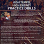 (Rental)-High Tempo, High Energy Practice Drills