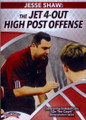 The Jet 4-out High Post Offense by Jesse Shaw Instructional Basketball Coaching Video