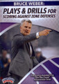 Plays & Drills For Scoring Against Zone Defenses by Bruce Weber Instructional Basketball Coaching Video