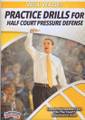 Practice Drills For Half Court Pressure Defense by Will Wade Instructional Basketball Coaching Video
