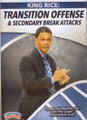 Transition Offense & Secondary Break Attacks by King Rice Instructional Basketball Coaching Video