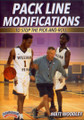 Pack L Ine Modifications To Stop The Pick & Roll by Matt Woodley Instructional Basketball Coaching Video